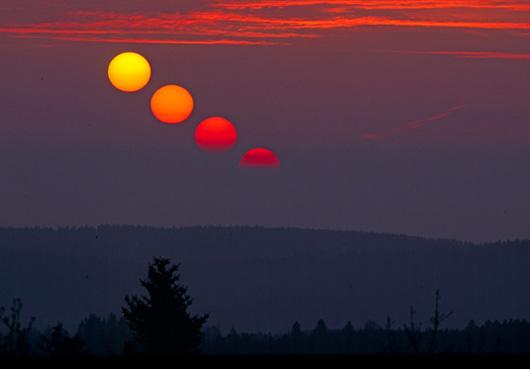 a quelle heure le soleil se leve